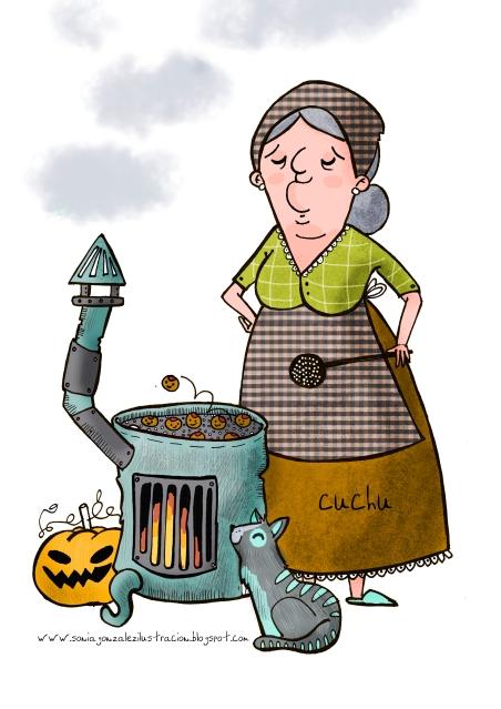 Si us agrada aquesta castanyera de Ia Cuchu (Sonia González) us la podeu descarregar al seu Facebook: www.facebook.com/cuchuilustracion